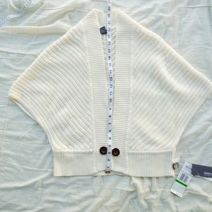 Kenneth Cole Reaction Creme Shrug Sweater